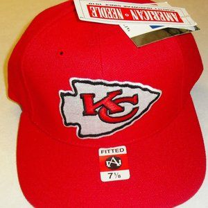 Kansas City Chiefs 90s Fitted hat sz. 7 1/8 Nfl